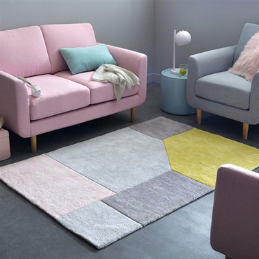 La d co en rose poudr c 39 est tendance d co for Deco rose et gris salon