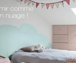 peinture grise et jaune pour repeindre des meubles de cuisine. Black Bedroom Furniture Sets. Home Design Ideas