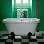 la couleur verte pour refaire sa salle de bain dans une ambiance zen ou tonique