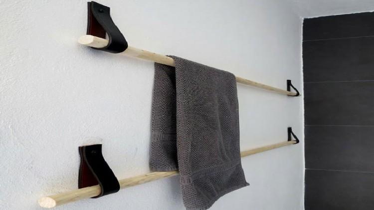 Fabriquer un porte serviette sympa avec 4 euros d co cool - Refaire salle de bain pas cher ...