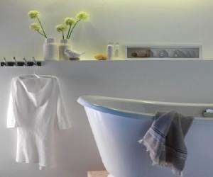 Peinture salle de bain couleur et id e peinture pour salle for Quelle peinture pour plafond salle de bain