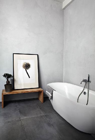 pour ma famille photo salle de bain noir et gris. Black Bedroom Furniture Sets. Home Design Ideas