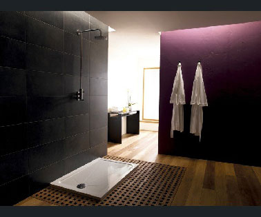 douche italienne dans chambre parentale design. Black Bedroom Furniture Sets. Home Design Ideas
