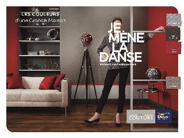 avec les couleurs de la collection modern de dulux valentine suexpriment sur les murs with. Black Bedroom Furniture Sets. Home Design Ideas