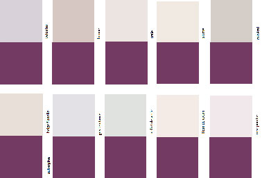 Comment associer la couleur aubergine en d coration d co for Association de couleurs murs