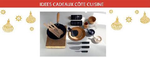 Une cuisine bien équipée ça passe par des ustensiles de cuisine de design et fonctionnels comme ceux en vente chez habitat en bois, marbre pour les mortiers et coton  pour les torchons et les couteaux à trancher
