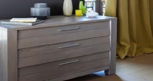 Pour peindre un meuble, voici le nouveau vernis teinté semi opacifiant issu de la technologie de la peinture GripActiv V33 pour meuble en bois verni ou stratifié sans décapage