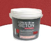 Pot peinture Crème de Béton de Tollens pour carrelage et supports bruts dans cuisine et salle de bain
