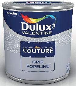 Collection de Couleurs COUTURE de Dulux Valentine en exclusivité chez Castorama une peinture monocouche pour murs et boiseries de toutes les Pièces de la maison, Lessivable  Disponible en pot de 0.5 et 2L