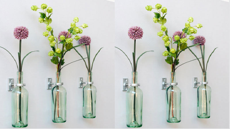diy d co fabriquer un vase avec une ampoule de r cup. Black Bedroom Furniture Sets. Home Design Ideas