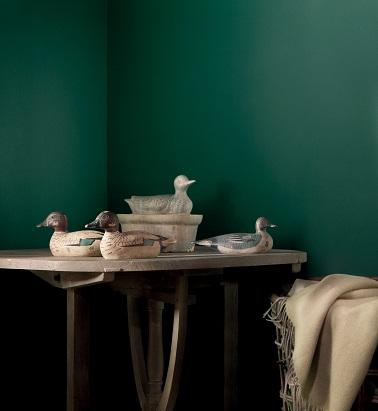 Peinture tollens et flamand 11 nouvelles couleurs pour vos murs d co cool for Peinture murale couleur verte
