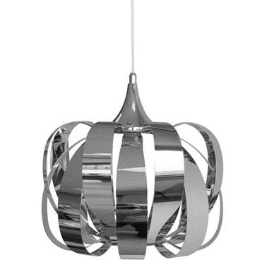 Cette lampe design pour le salon a une âme. Son style unique, ses dimensions et sa matière : le chrome apporte une modernité certaine à la pièce en un instant.