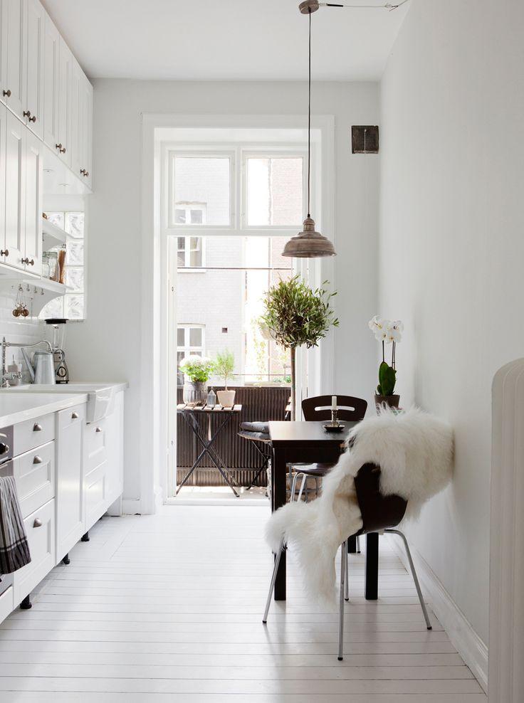 cuisine, ce style s'adapte à tous les espaces. Dans cette cuisine ...