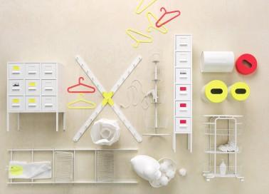 La nouvelle collection capsule de chez Ikea est un bouffée d'air frais dans l'univers du rangement pour salle de bain, minimaliste et acidulée c'est un atout design en toute simplicité.