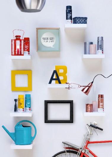 Ne jetez plus vos meubles et objets démodés. la peinture en bombe est là pour vous aider à repeindre meubles en bois, en plastique et fer, tout passe par l'aérosol !