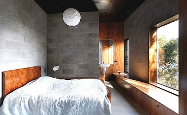 Suite parentale grise style loft et du bois pour r chauffer le tout for Petite suite parentale