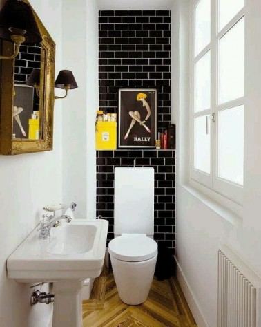 10 d co wc qui soignent les petits coins d co cool. Black Bedroom Furniture Sets. Home Design Ideas