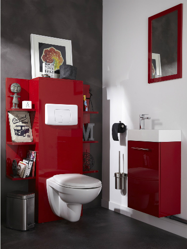 10 d co wc qui soignent les petits coins d co cool - Decoration des toilettes design ...