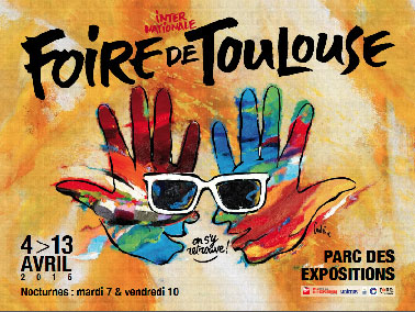 Affiche foire internationale de toulouse 2015 - Catalogue couleur peinture astral ...