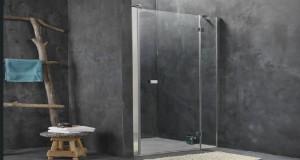 La douche italienne installée dans une petite salle de bain, une bonne idée d'aménagement pour gagner de la place et optimiser la déco de la salle de bain