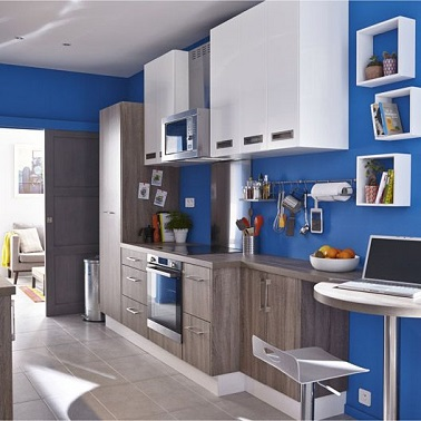 La Cuisine Bleu On L 39 Adore Deco Cool