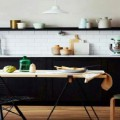 La cuisine vintage un style déco qui a la cote ! Mélange de style nordique et touche de meubles vintage et moderne, la cuisine scandinave, petite ou grande, se décline souvent en noir et blanc