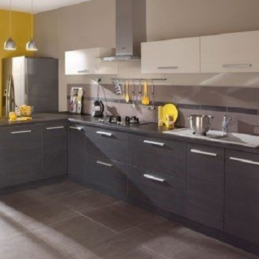 La couleur taupe inspire la d co de la maison d co cool for Meuble de cuisine gris anthracite