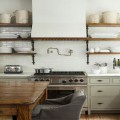 Retour en force de la déco vintage pour la cuisine. Meubles rétro accessoires cuivre, style cuisine américaine des années 50, idées déco et photo sur une ambiance remise au goût du jour.