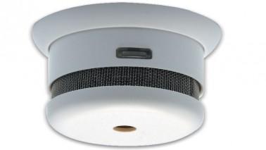 Bientôt obligatoire dans la maison ou l'appartement voici un modèle de détecteur de fumée à classer dans les plus design et plus petit du marché. Son installation se fait au plafond en moins de 2minutes et est équipé d'une alarme 90 DB