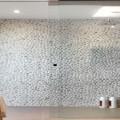 le carrelage et le béton ciré pour la douche italienne donne des idées déco pour la salle de bain