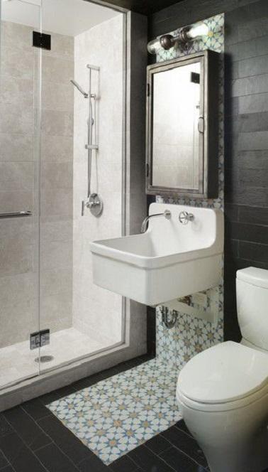 Photo Petite Salle De Bain Douche 8 idées d'aménagement de petite salle de bain | deco-cool