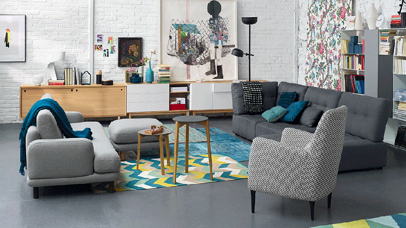 Soldes les bons plans habitat et fly d co cool for Solde meuble salon