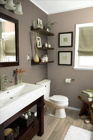Color schemes for living rooms gray 2017 2018 best cars reviews - Deco salle de bain taupe ...