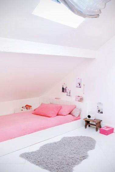 Chambre Fille Blanche Et Rose – Paihhi.com
