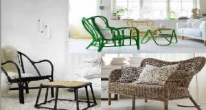 La nouvelle collection de petits meubles de la collection Nipprig d'ikéa fait la part belle aux meubles artisanaux fabriqués en osier et jonc de mer dans une démarche éco-responsable qui fait plaisir