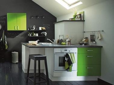 Jouer sur les couleurs dans l 39 am nagement de la cuisine - Regle amenagement cuisine ...