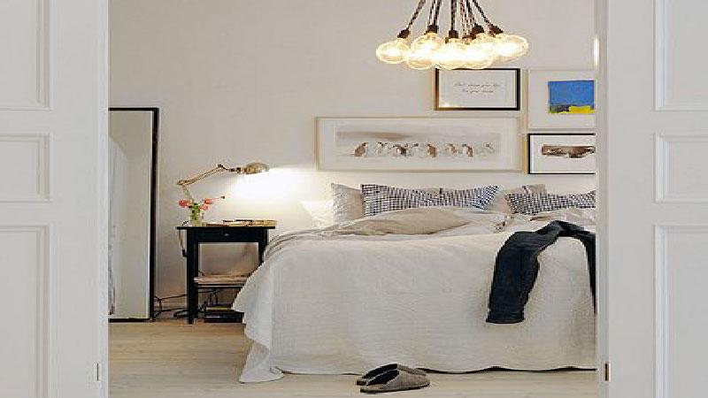 11 chambres blanche pour bien se reposer deco cool. Black Bedroom Furniture Sets. Home Design Ideas