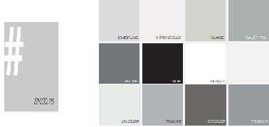 avec ce nuancier de peinture grise des ides dco pour une association avec du noir et
