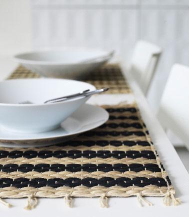Set de table en jacinthe d 39 eau ikea for Table de travail ikea