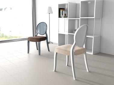 Adaptable à toutes les chaises Elizabeth de la gamme, le coussin pour assise apporte un confort supplémentaire. Facilement installable puisque uniquement et directement zippé à la chaise, il se décline en 5 coloris différents de l'ivoire, au marron en passant par du noir. De quoi harmoniser la couleur de la chaise en elle-même avec un coussin moelleux offrant un confort optimal. Une idée utile pour renforcer une déco cocooning !