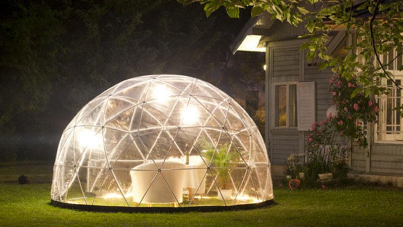 Le Garden Igloo, l'abri de jardin à la mode !