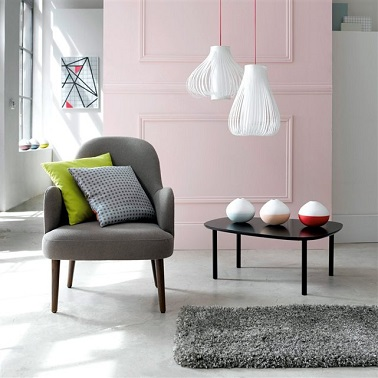 Fauteuil joan gris la redoute - La redoute fauteuils ...