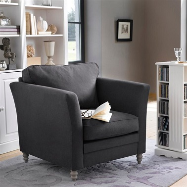 fauteuil nottingham la redoute. Black Bedroom Furniture Sets. Home Design Ideas