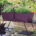 Les beaux jours vont en voir de toutes les couleurs avec les jardinières sur le balcon. Design revisité avec des bacs à fleur en fer ou fibre aux couleurs contemporaines, jardinière treillis en bois, pour aménager une décoration de balcon et terrasse pour un printemps et été fleuris