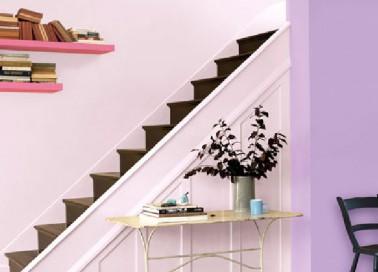 comment associer la couleur parme dans sa d co d co cool. Black Bedroom Furniture Sets. Home Design Ideas