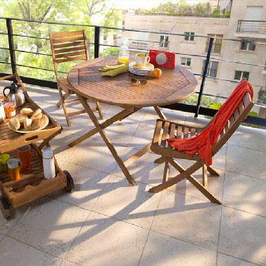 Salons de jardin pas chers pour se relaxer cet t d co cool for Castorama exterieur table