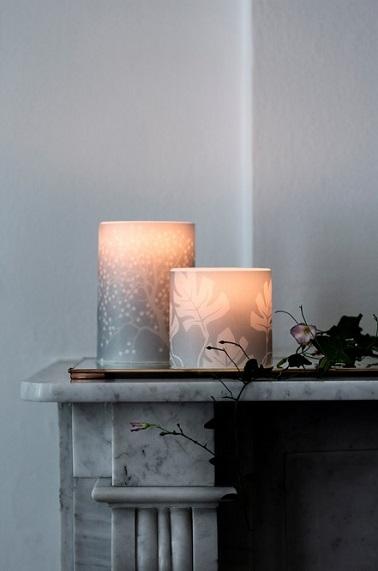 Habiller ses bougies est très important pour sublimer la lumière et décorer subtilement la pièce.