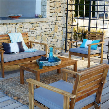 Salons de Jardin pas chers pour se relaxer cet été | Déco-Cool