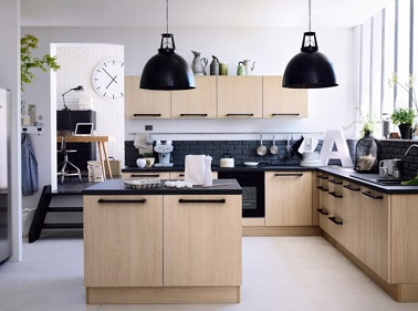 10 cuisines avec lot central tendances deco cool - Creer un ilot central ...