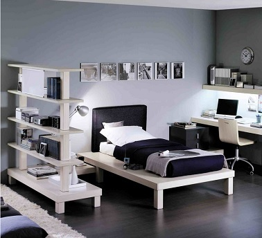 chambre ado fille noir et blanc roche bobois. Black Bedroom Furniture Sets. Home Design Ideas